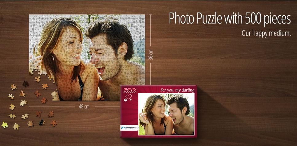 500 pieces photo puzzle
