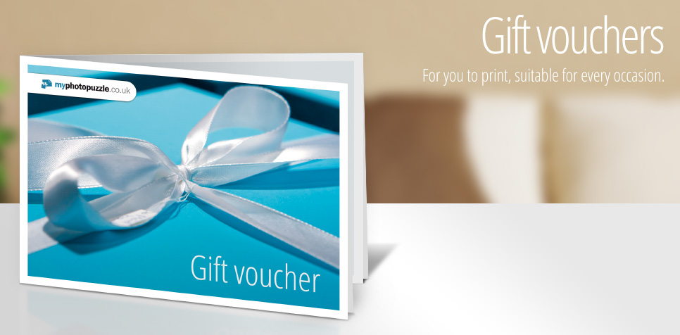 Bring joy with a gift voucher from myphotopuzzle.co.uk