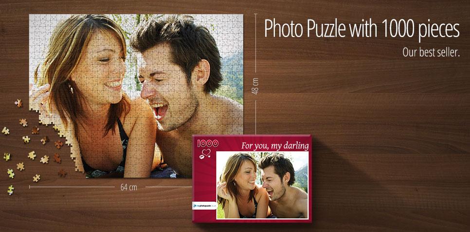1000 pieces photo puzzle