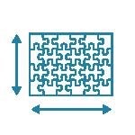 Puzzle size: 64x48 cm