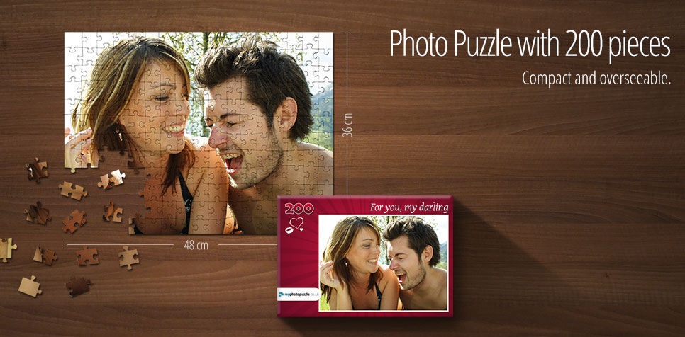 200 pieces photo puzzle
