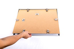 Instructions puzzle frame step 4