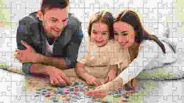 Doing a puzzle allows you to spend time together