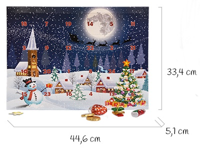Size of the advent calendar