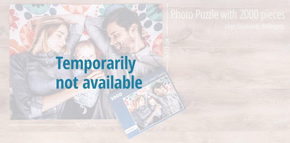 2000 pieces photo puzzle