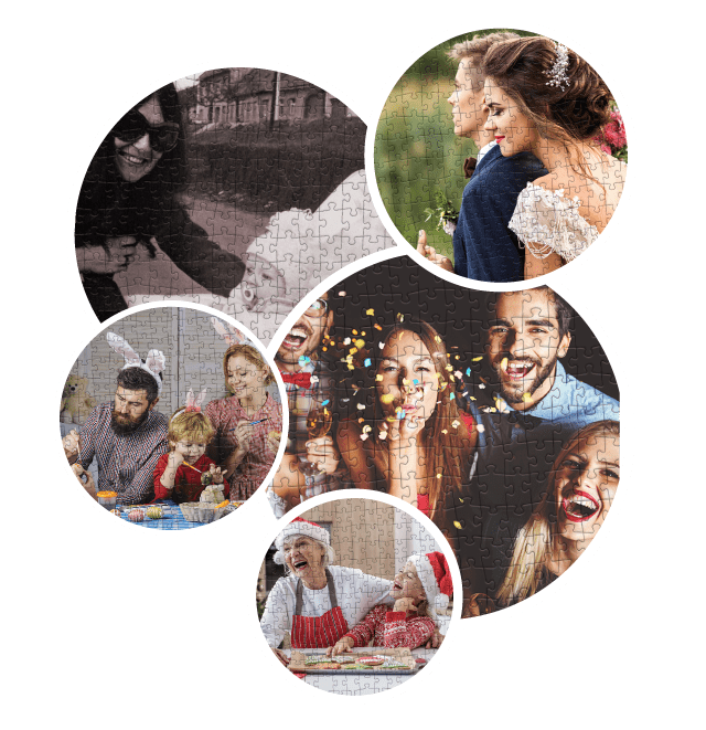 Photo puzzle gift idea for many occasions