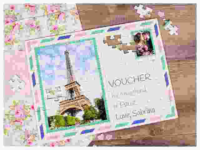 Jigsaw puzzle as a voucher