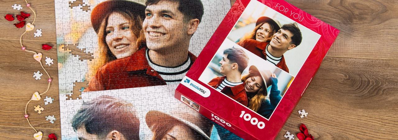 Photo Puzzle Collage Couple