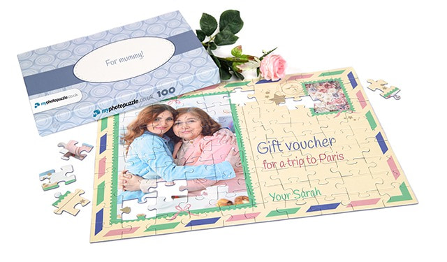 give away a puzzle as a gift voucher