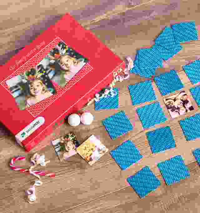 Create your personalised Pairs Game for Christmas