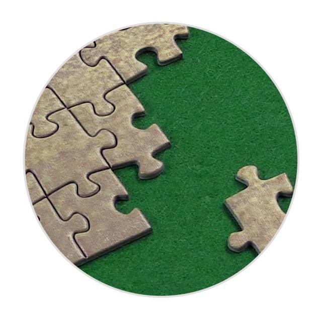 Puzzle mat for your favorite puzzle