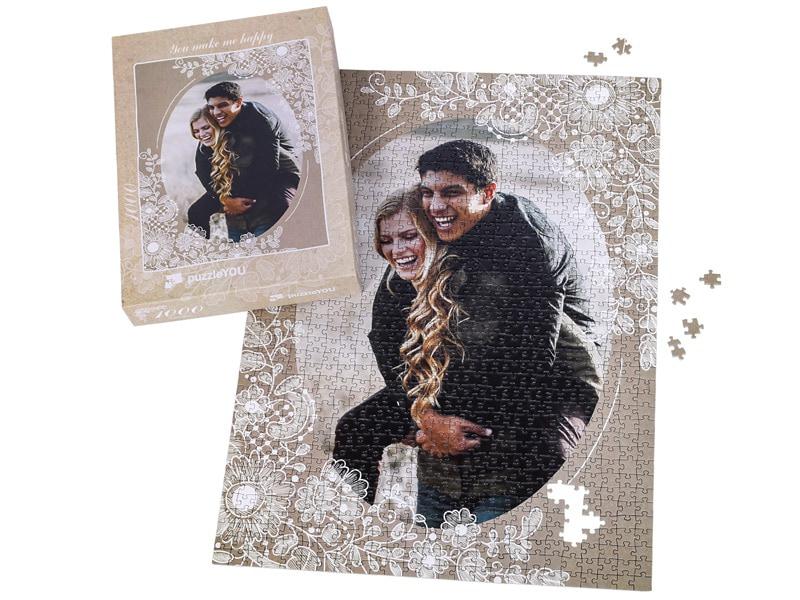 Box photo puzzle 1000 pieces