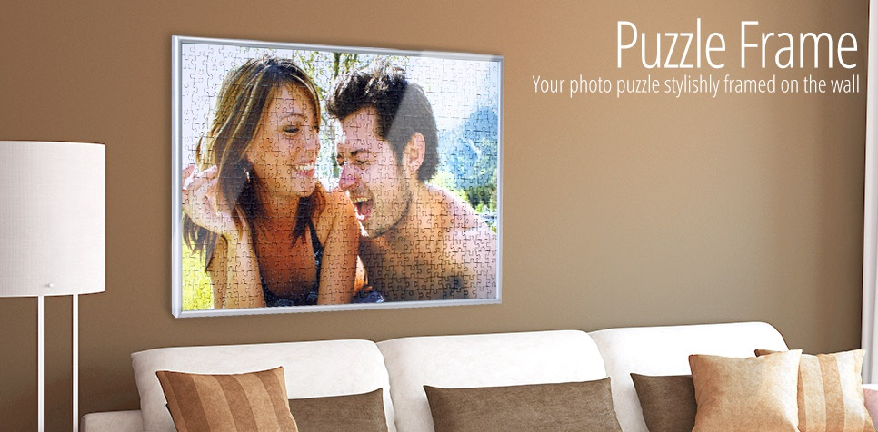 Tailor-made frame for your photo puzzle