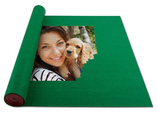 Roll your puzzle up with our puzzle mat