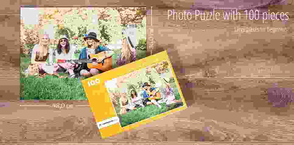 100 pieces photo puzzle
