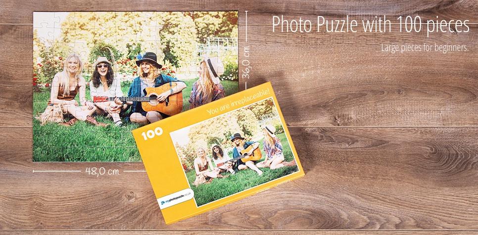 100 pieces photo puzzle