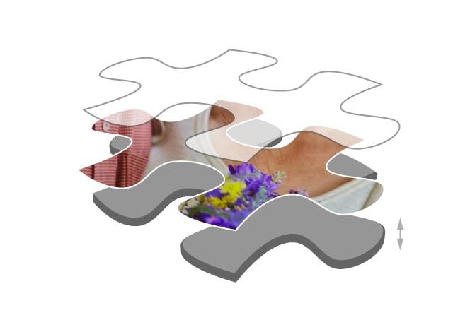Puzzle cardboard