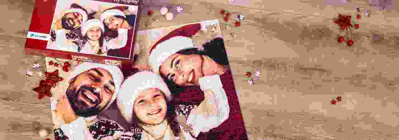 Create your personal photo puzzle as a Christmas present