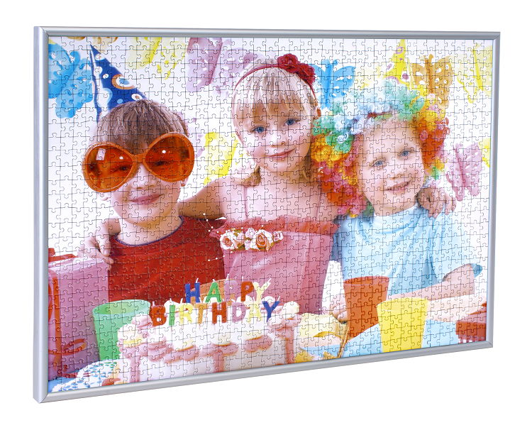 Frame your photo puzzle with our puzzle frames