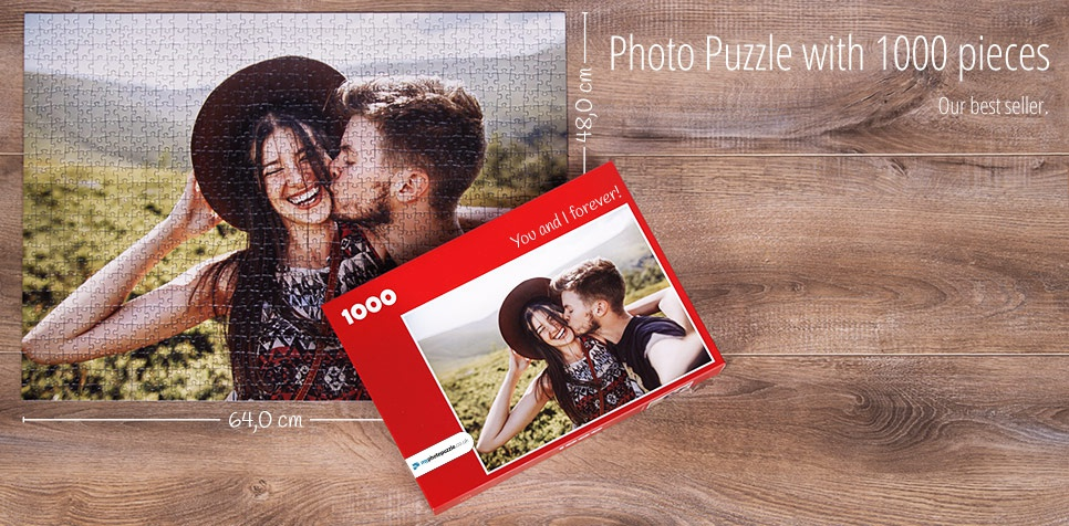 1000 pieces photo puzzle