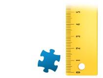 Size ratio puzzle piece photo puzzle 1000 pieces