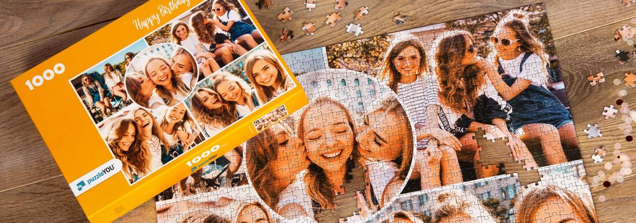 Photo Puzzle Collage Friends