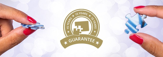 Photo puzzles with a 15-year guarantee