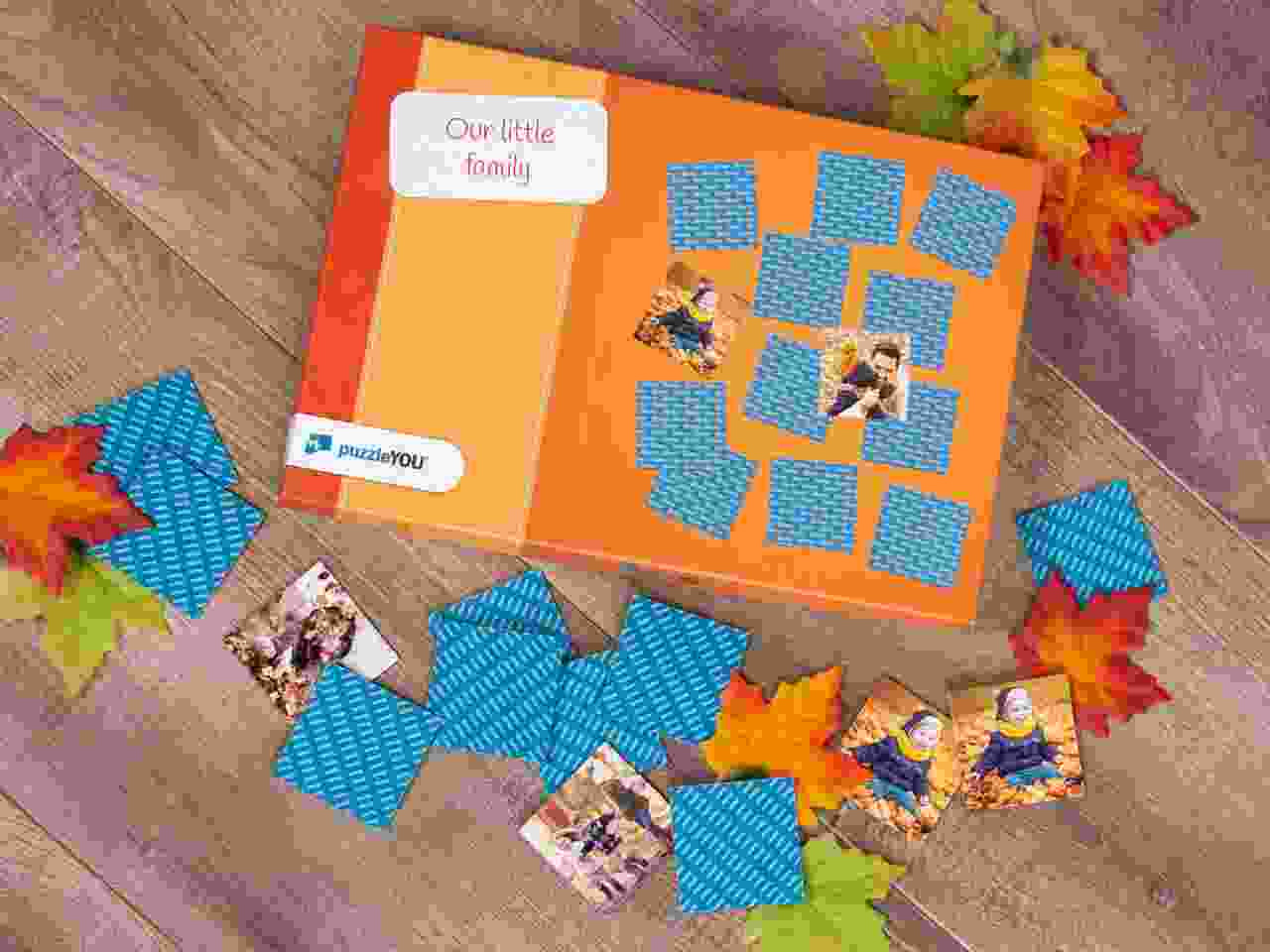 Photo Pairs game with 36 cards