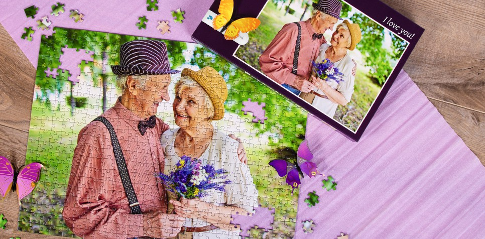 Photo gifts for Valentine's Day