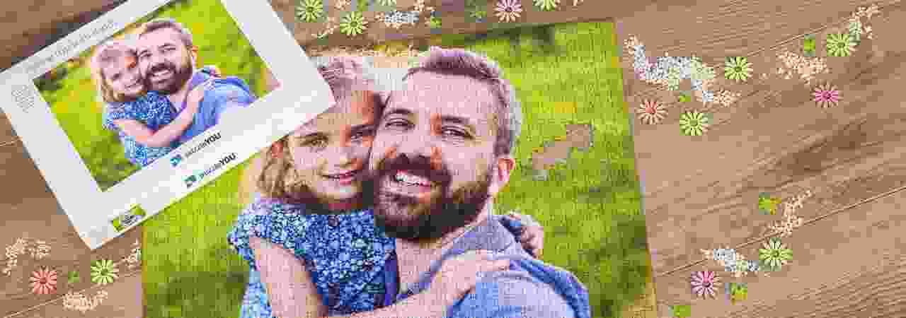 Order your photo as puzzle with up to 2000 pieces