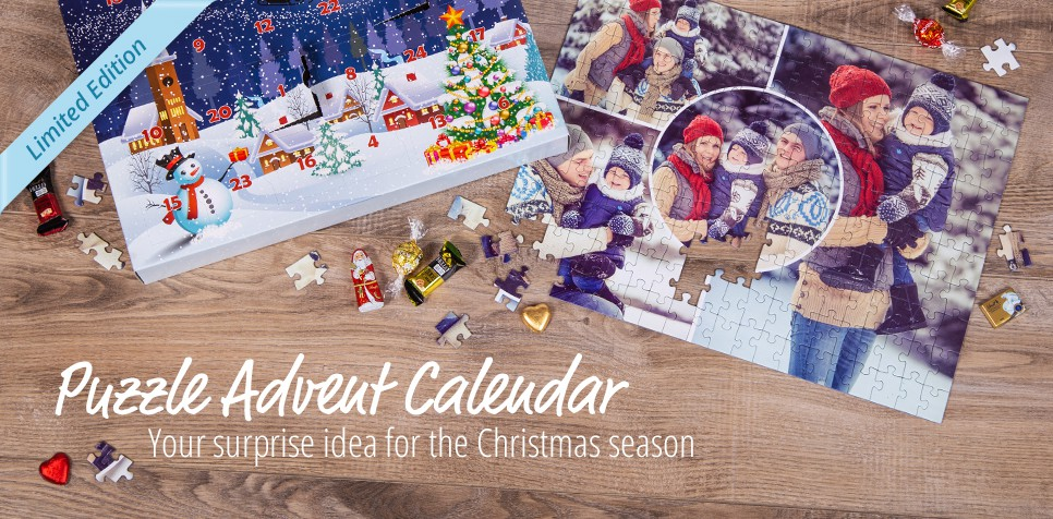 Your personalised Puzzle Advent Calendar