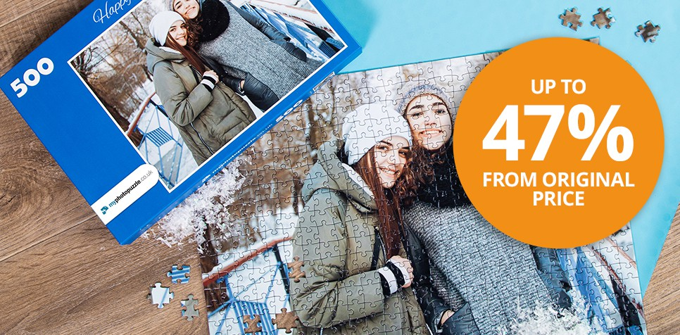 Save up to 47% from the original price