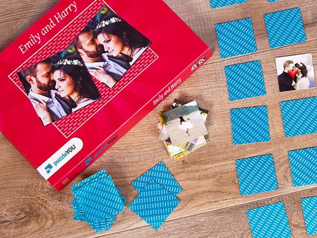 Photo gift pairs game