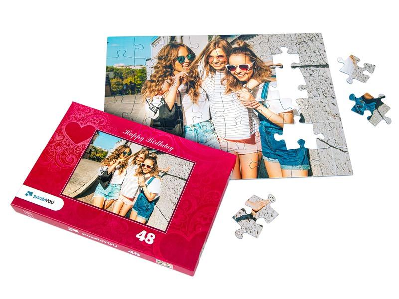 Box photo puzzle 48 pieces